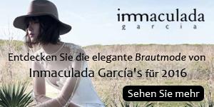 Entdecken Sie die elegante Brautmode von Inmaculada García für 2016 / Brautkleider & Haute Couture Made in Barcelona