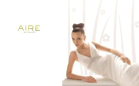 Colección de vestidos de novia Aire Collection 2010