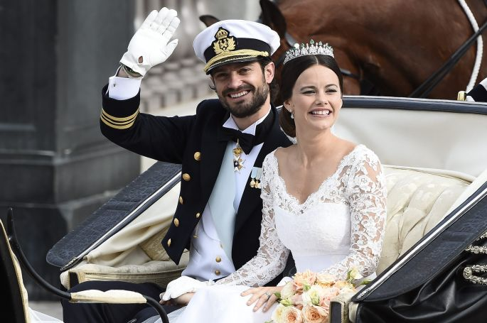 Carlos Felipe de Suecia y Sofía Hellqvist. Imagen Gtres Online.