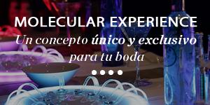 MOLECULAR EXPERIENCE Un concepto único y exclusivo para tu boda