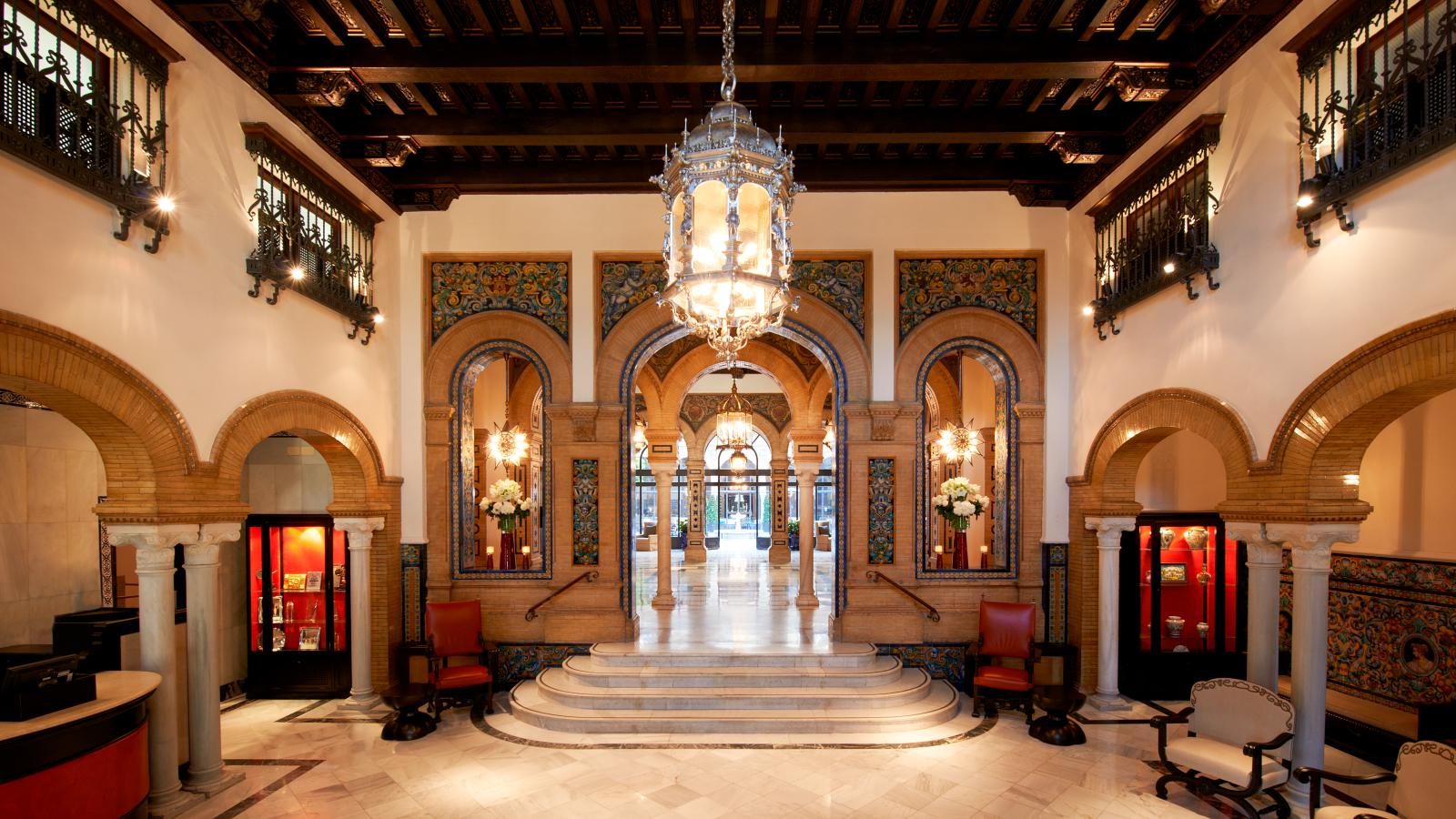 Photo : Hôtel Alfonso XIII - Séville