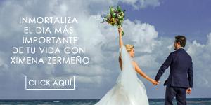 Inmortaliza el día más importante de tu vida con Ximena Zermeño