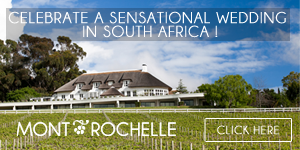 Celebrate a sensational wedding in South Africa!